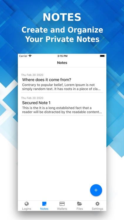 LockBox: Offline Secured Vault screenshot-4