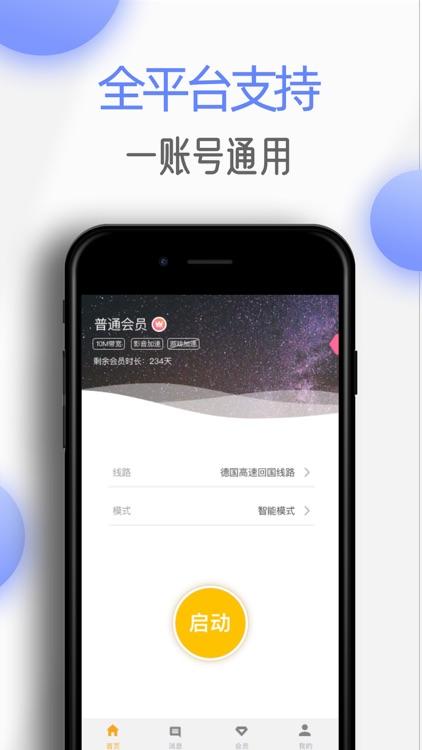 极速穿梭-海外华人影音游戏回国加速器 screenshot-3