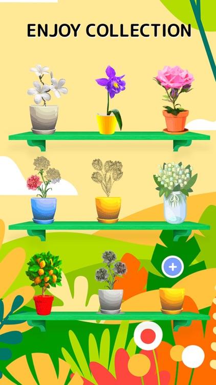 Tap Tap - Coloring Garden Idle screenshot-3