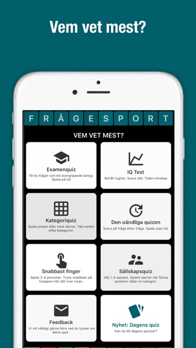 Vem vet mest? - by QuizStone ApS - Games Category