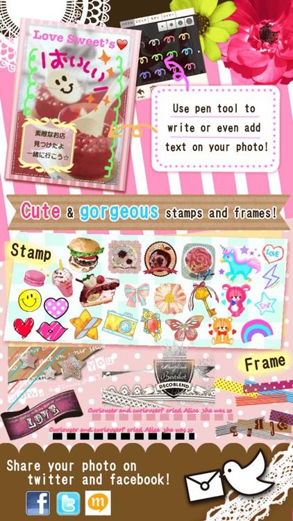 DecoBlend-Cute photo editor screenshot-3