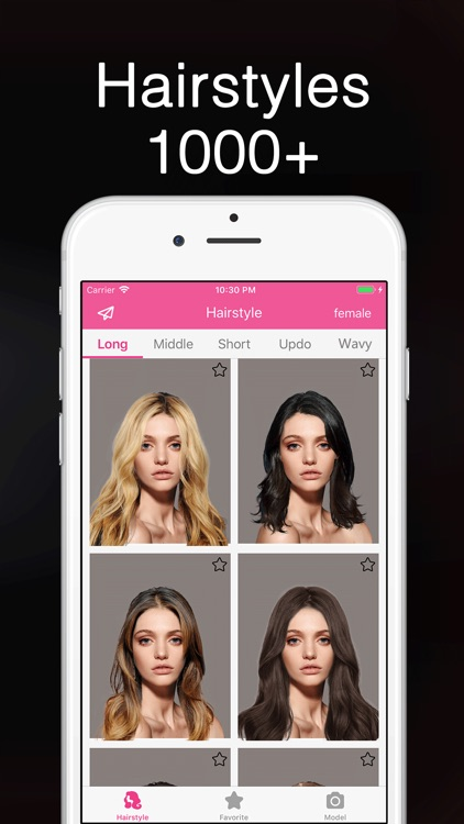 Hairstyle Try On & Hair Salon