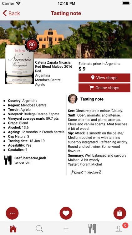 Latinawine screenshot-3