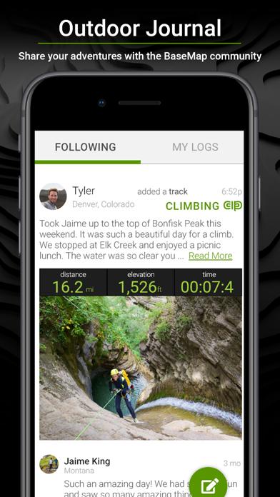 BaseMap: Hunting GPS Maps Screenshot