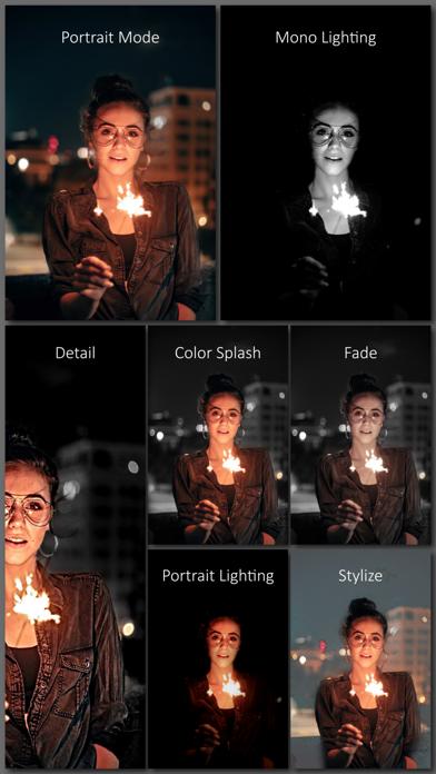 Screenshot for Phocus: Portrait mode editor in United Arab Emirates App Store