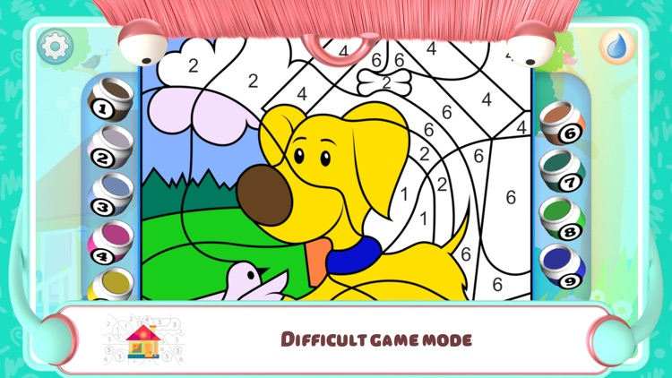 Color by Numbers - Dogs screenshot-3