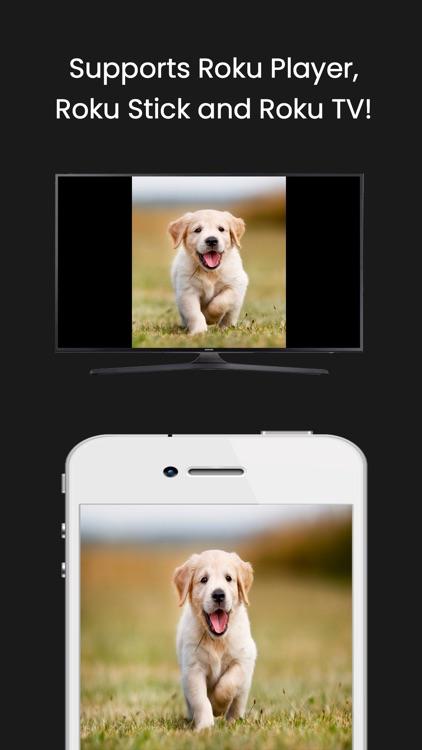 Air Mirror for Roku TV Screen