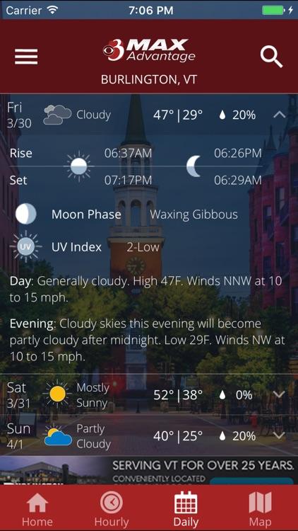 WCAX WEATHER - screenshot-4