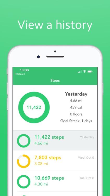 Step Tracker+