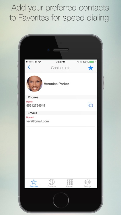 Bizphone PRO screenshot-1