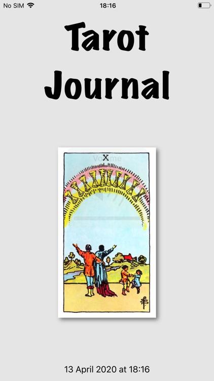 Tarot Journal screenshot-9