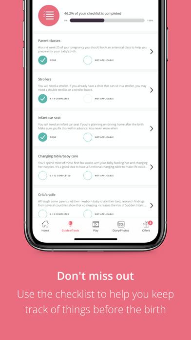 Pregnancy App | PreglifeScreenshot of 8