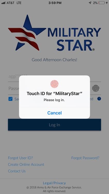 MILITARY STAR® Mobile