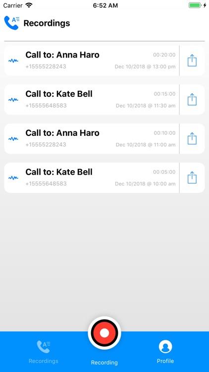 Call Recording by NoNotes screenshot-6