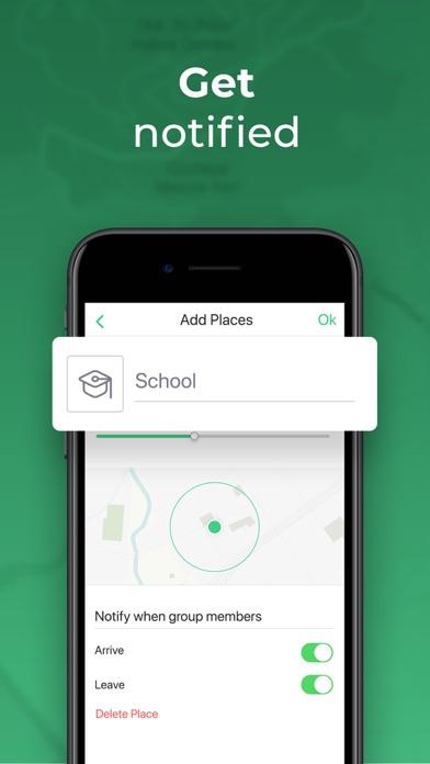Hulahoop: Location Sharing Screenshot