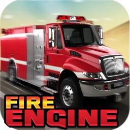 Fire Engine Racing Simulator