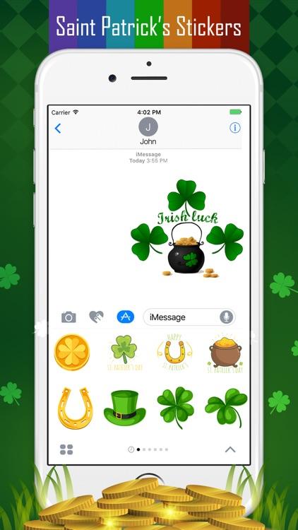 Saint Patrick's Day Sticker screenshot-5