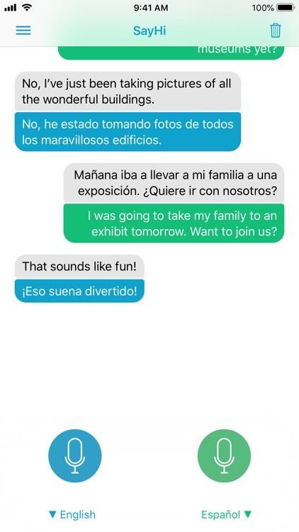 SayHi Translate screenshot-3
