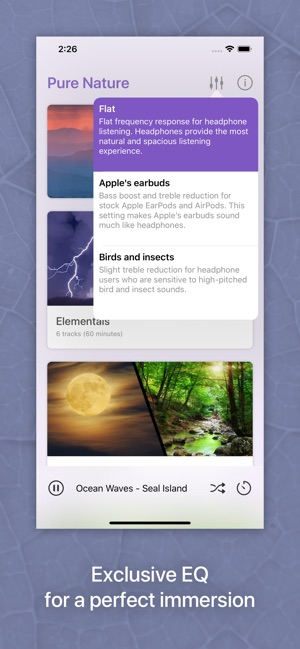 Pure Nature - 3D Soundscapes on the App Store