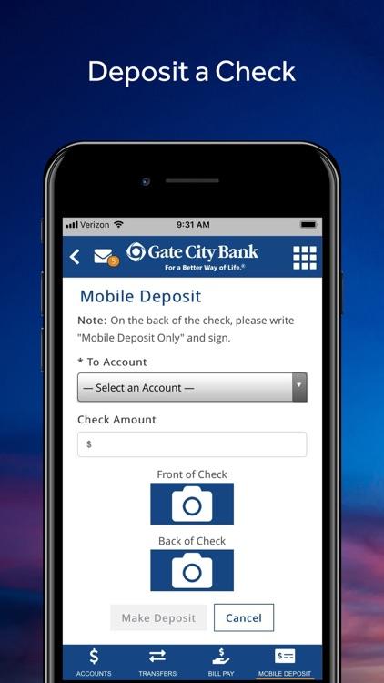 Gate City Bank Mobile screenshot-6