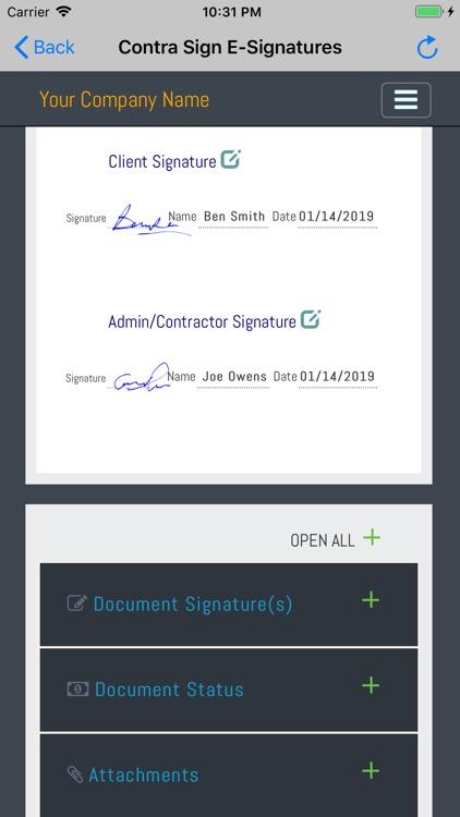 Contra Sign E-Signatures screenshot-3