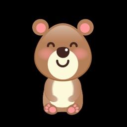 BaBy Bear Cute Sticker