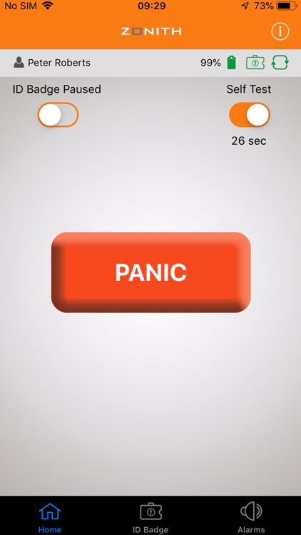 ZONITH Staff Safety App