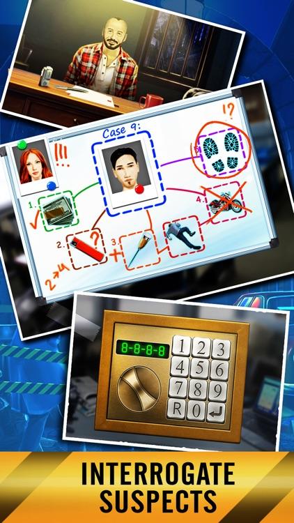 Crime City: Hidden Object screenshot-4