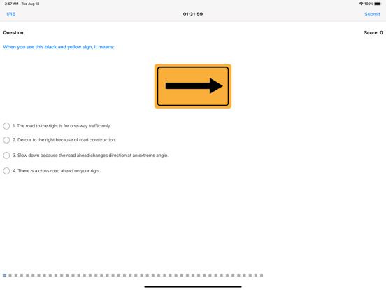 DMV Driving License Test 2020 screenshot 13