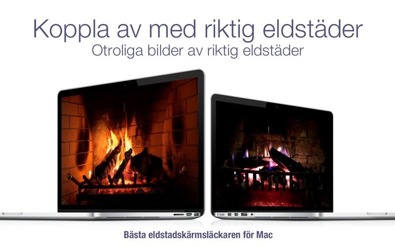 Eldstad HD+: Skärmsläckare på PC