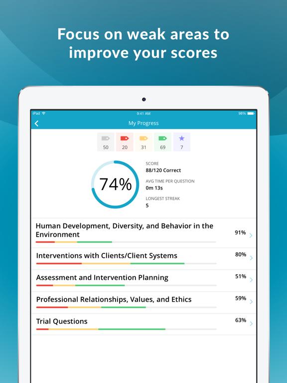 ASWB Social Work Exam Prep screenshot 7
