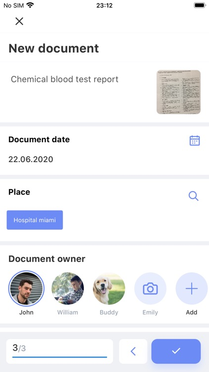 Medical History – documents screenshot-5