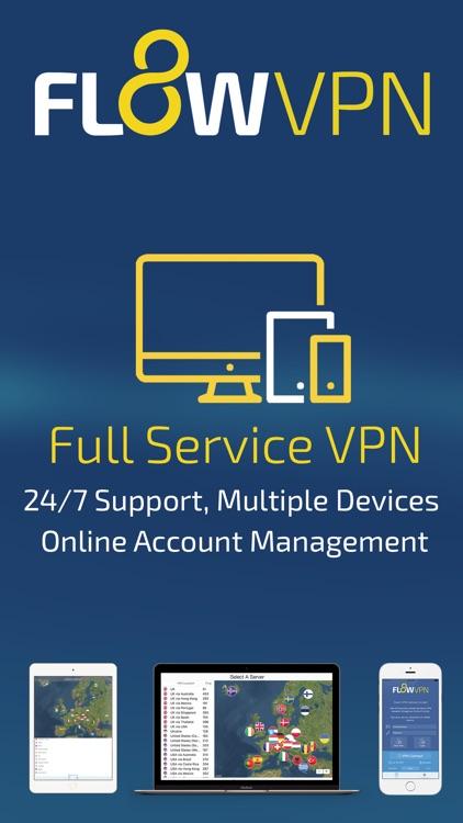 Flow VPN - Global Private VPN screenshot-4