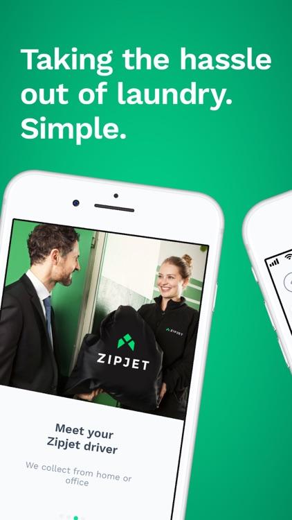 Zipjet: the Laundry App