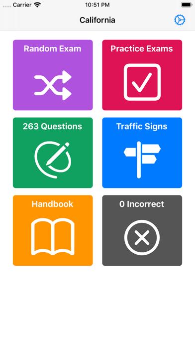 DMV Driving License Test 2020 screenshot 2