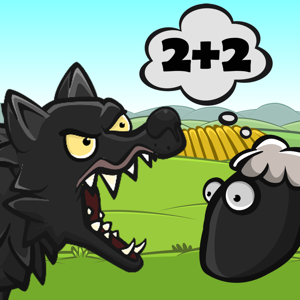 Math: Wolf and Sheep - Games app