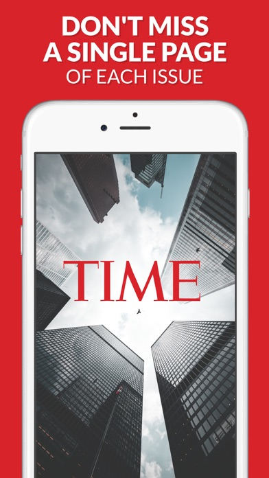 Screenshot for TIME Magazine in Canada App Store