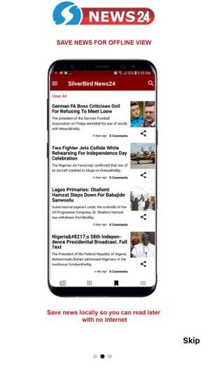 Silverbird News24 on the App Store