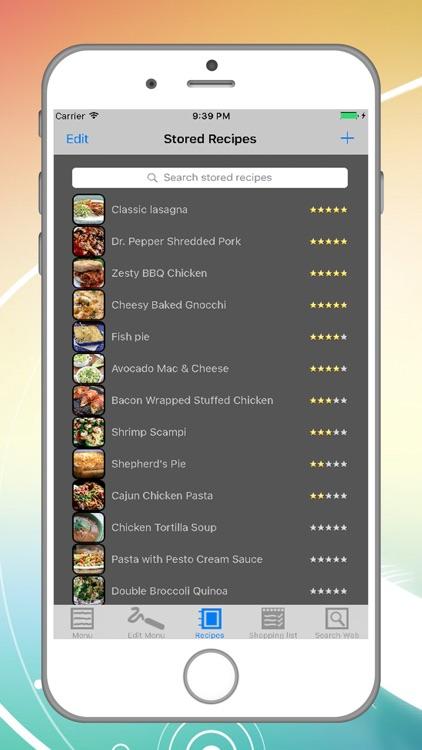 Dinner Buddy Meal Planner screenshot-3