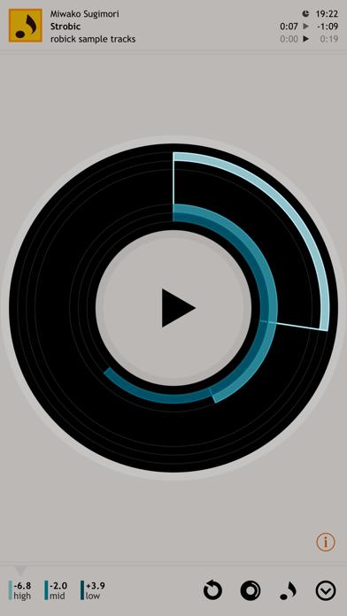 robick Audio Player screenshot four