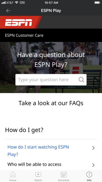 ESPNPlay Caribbean Screenshot