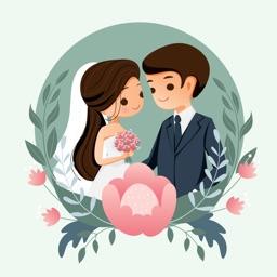 Animated Wedding Stickers