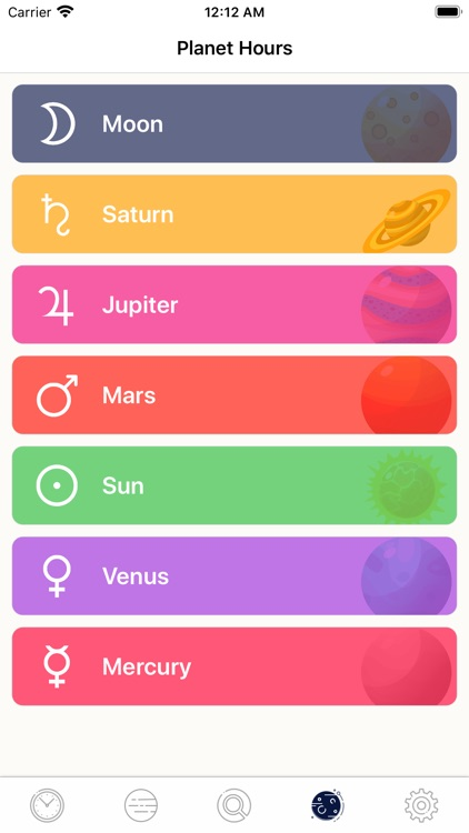 Planetary Hours + Widget screenshot-9