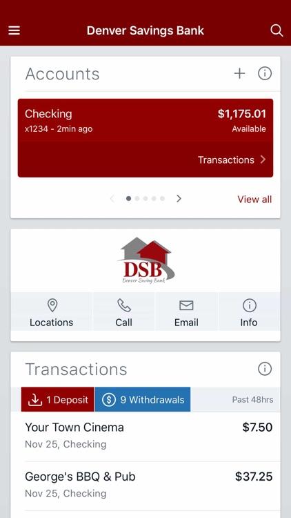 Denver Savings Bank Mobile