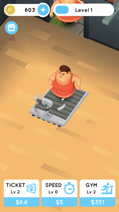 Fit the Fat: Idle Gym screenshot 2
