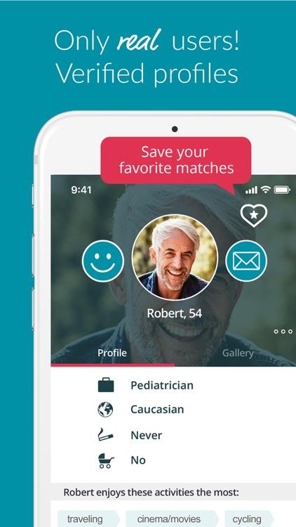 SilverSingles - Mature Dating screenshot-4