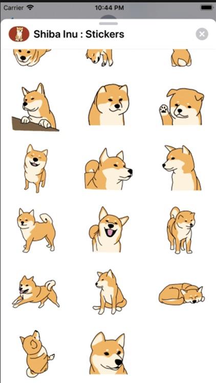 Shiba Inu : Stickers screenshot-3
