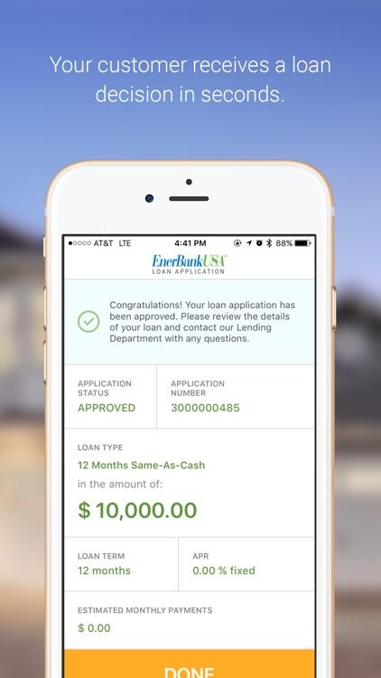 EnerBank USA Contractor screenshot-4