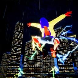 Spider Electric Superhero City