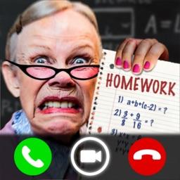 Scary Teacher Call Prank